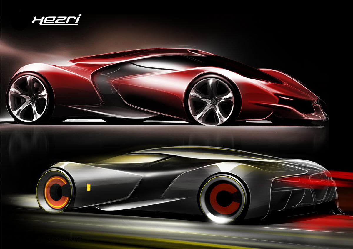 of-ferrari-past-and-present-and-looks-to-the-ferrari-of-the-future-with-this-objective-aim-was-to-develop-a-hyper-car-as-an-integrated-system-aimed-at