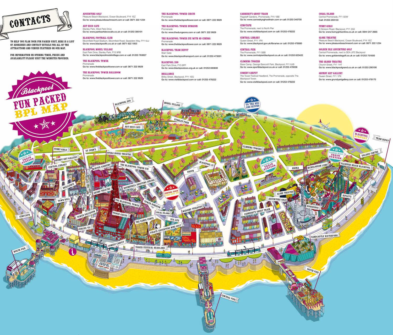 Blackpool gay map