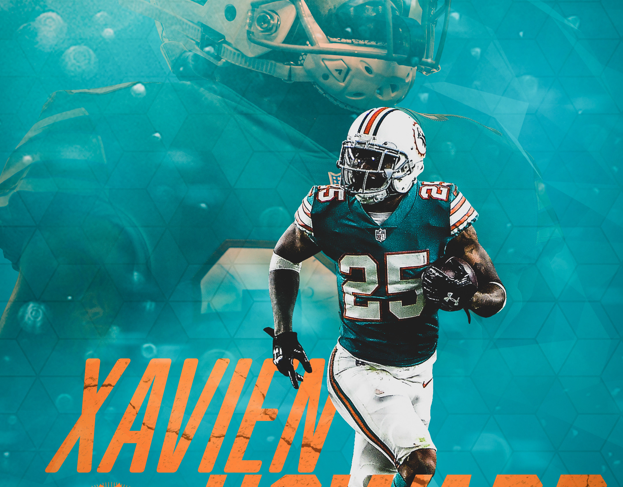 best loved 9c4d2 211ae Zachary Kilgore - Xavien Howard Wallpaper