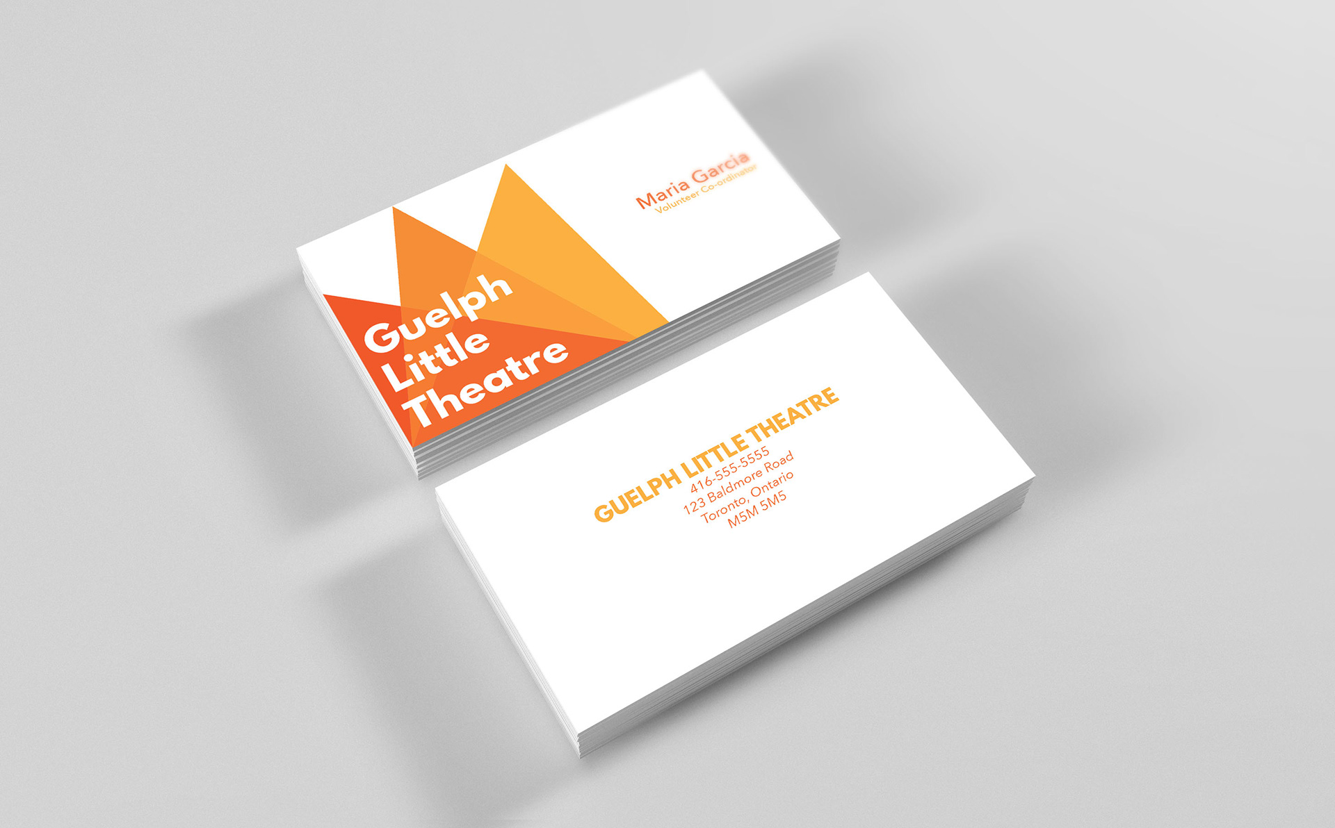 Ann mcdougall guelph little theatre branding branding project for a community theatre group this logo was inspired by the bold interplay of colours in theatrical lighting reheart Choice Image