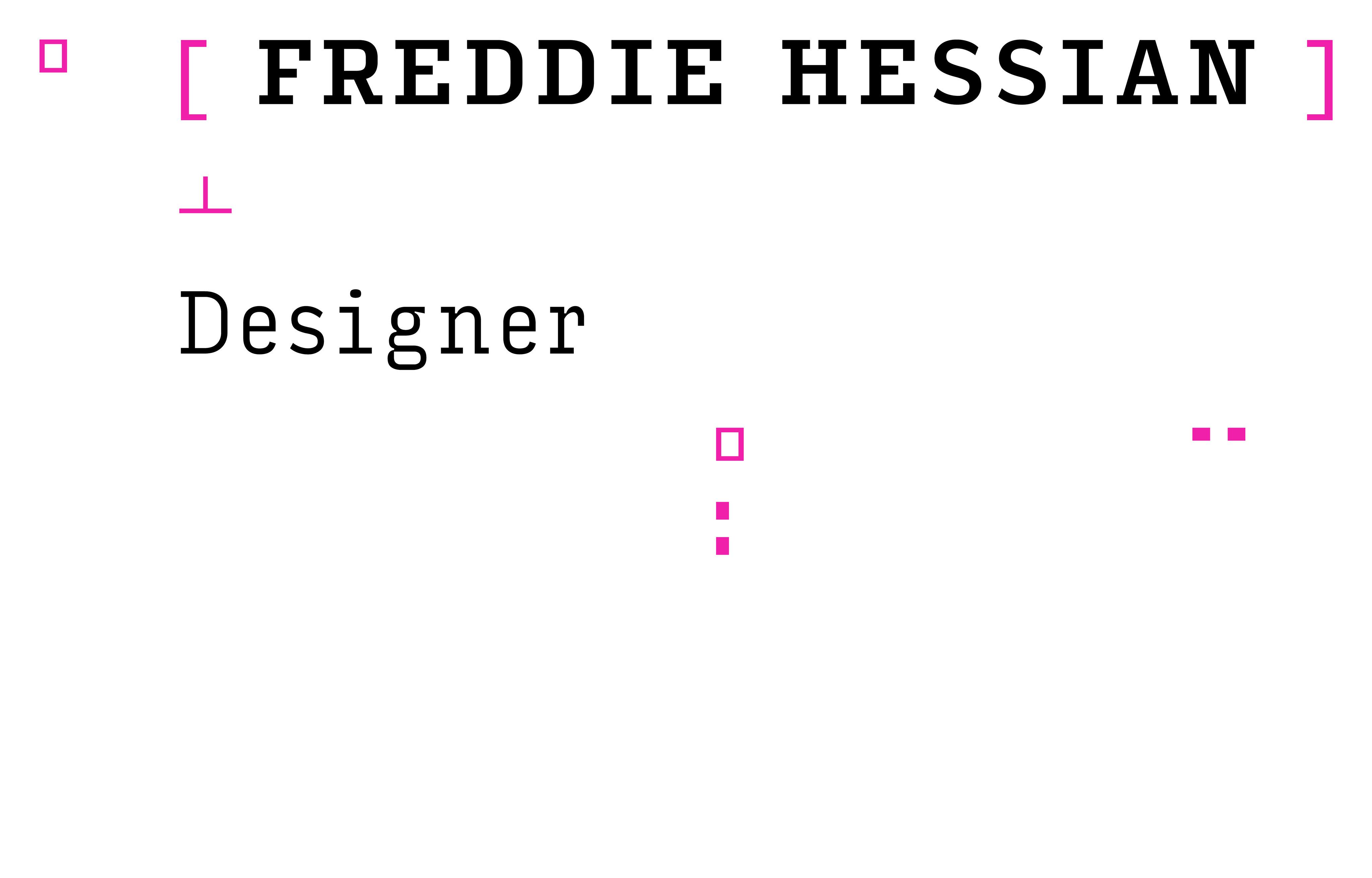 Freddie Hessian