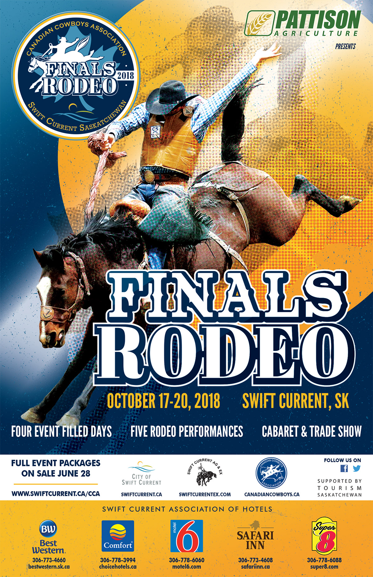 Brandon Wiebe 2018 Cca Finals Rodeo Posters And Ads