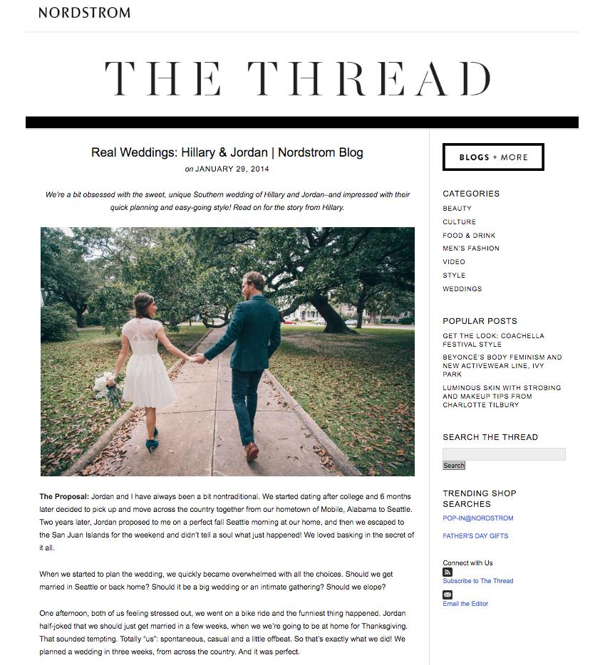 Sarah Walton - STYLING | NORDSTROM WEDDING SUITE