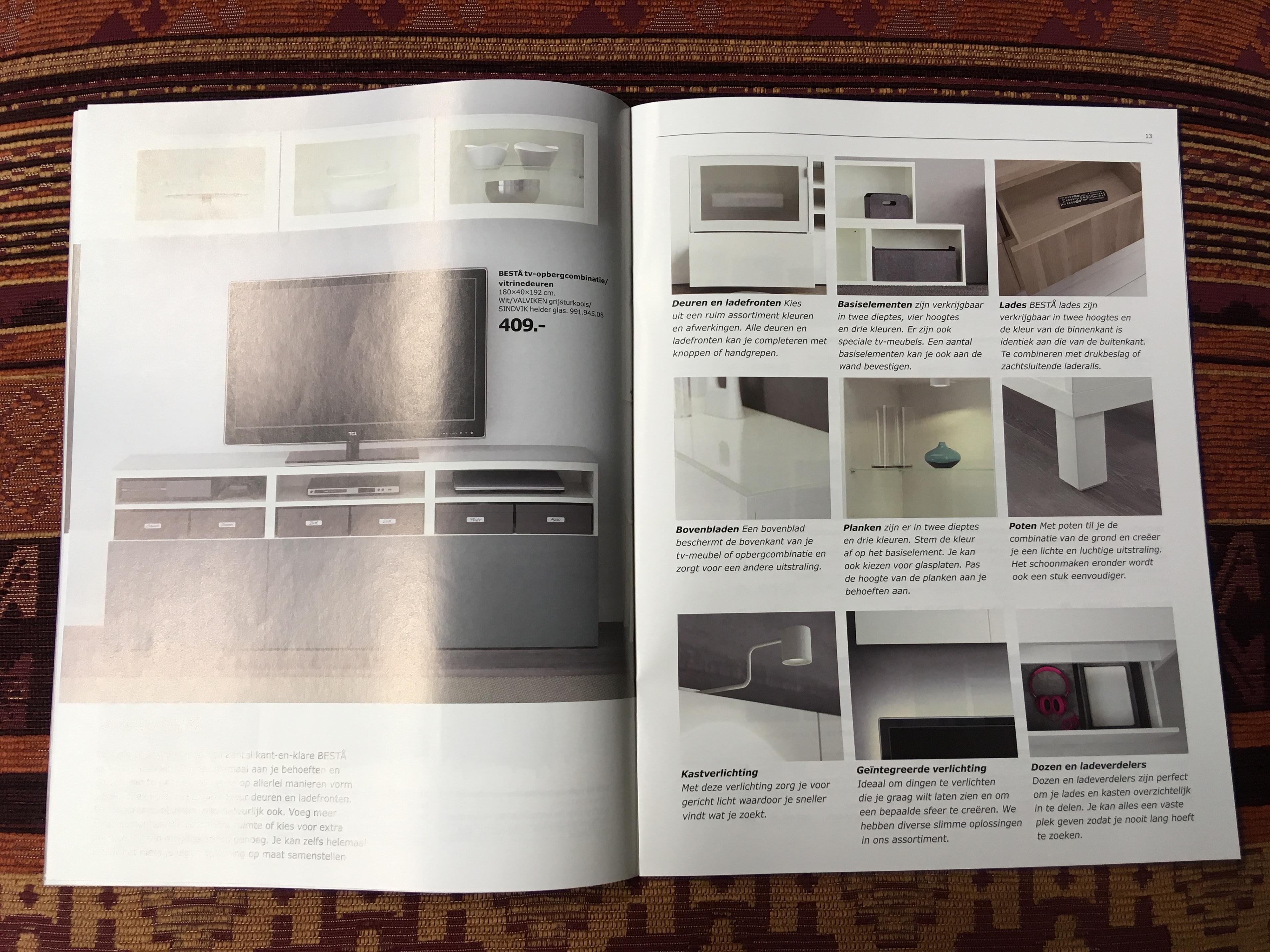 Ikea Tv Kast Meubel.Intercreatief Online Offline Design Ikea