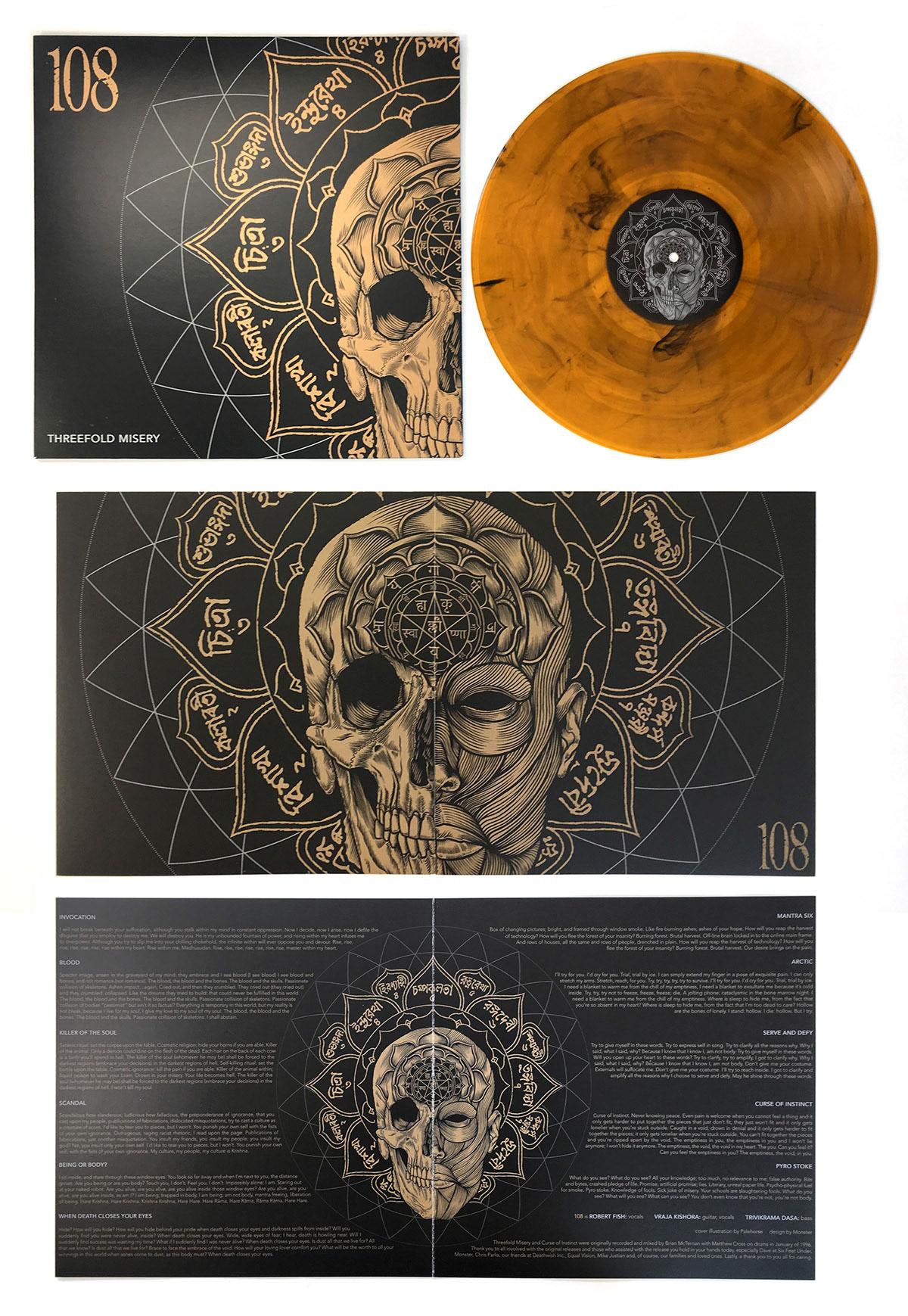 Official Palehorse Portfolio - 108: Threefold Misery Album